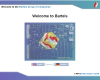 Bartels Group of Companies - www.bartels.de
